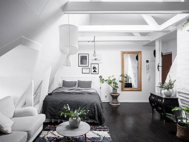 Фотография: Спальня в стиле Скандинавский, Стокгольм, Гид, скандинавский интерьер, как создать уютную атмосферу – фото на INMYROOM