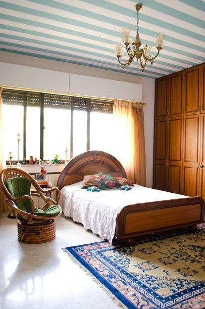 Фотография: Спальня в стиле Восточный, Советы, Ремонт, Потолок, Ремонт на практике – фото на InMyRoom.ru