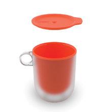 Набор из 2 кружек с двойными стенками для микроволновой печи Joseph Joseph m-cuisine оранжевый