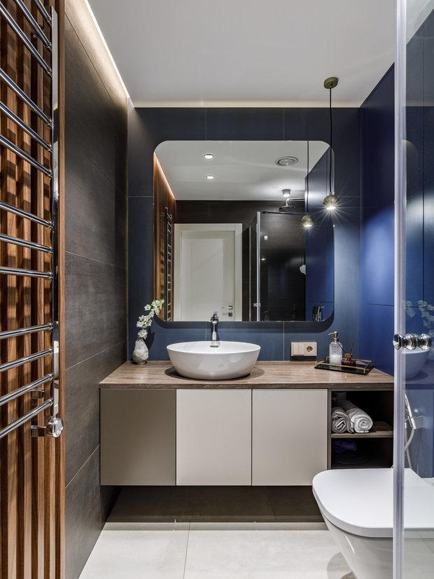 Фотография: Ванная в стиле Современный, Квартира, Проект недели, Санкт-Петербург, 4 и больше, Более 90 метров, ARCA design – фото на INMYROOM