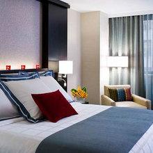 Фотография: Спальня в стиле Современный, Декор интерьера, Дома и квартиры, Городские места, Отель, Проект недели – фото на InMyRoom.ru