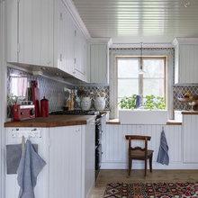 Фотография: Кухня и столовая в стиле Кантри, Классический, Скандинавский, Современный – фото на InMyRoom.ru