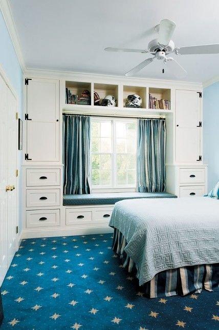 Фотография: Спальня в стиле Прованс и Кантри, Скандинавский, Интерьер комнат – фото на InMyRoom.ru
