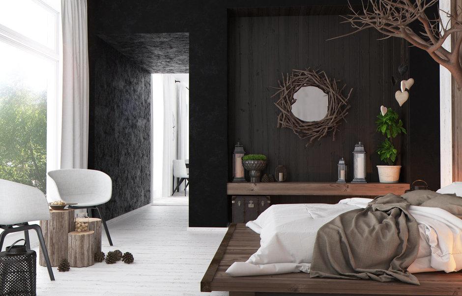 Фотография: Спальня в стиле Современный, Квартира, Дома и квартиры, Перепланировка, Переделка – фото на InMyRoom.ru