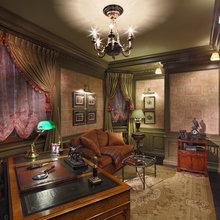 Фотография: Офис в стиле Классический, Квартира, Дома и квартиры, Проект недели – фото на InMyRoom.ru