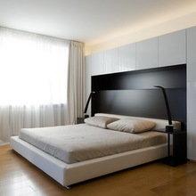 Фотография: Спальня в стиле Минимализм, Квартира, Дома и квартиры, Москва – фото на InMyRoom.ru