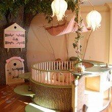 Фотография: Детская в стиле Кантри, Декор интерьера, Мебель и свет, Декор дома, Светильники, Зеркала – фото на InMyRoom.ru