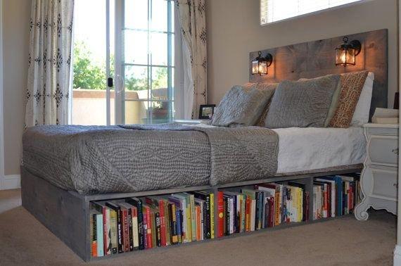 Фотография: Спальня в стиле Скандинавский, Детская, Интерьер комнат, Библиотека – фото на InMyRoom.ru
