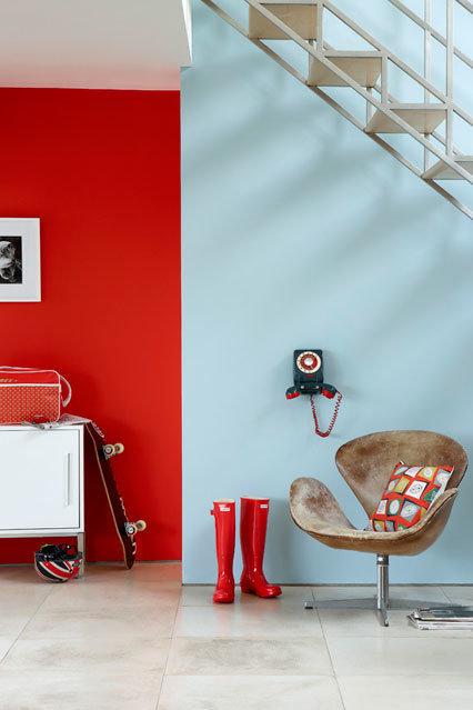 Фотография: Декор в стиле Современный, Декор интерьера, Дизайн интерьера, Цвет в интерьере, Краска – фото на InMyRoom.ru