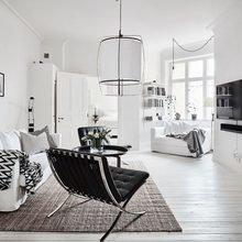 Фото из портфолио МАГИЯ черно-белого интерьера – фотографии дизайна интерьеров на InMyRoom.ru