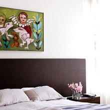 Фотография: Спальня в стиле Минимализм, Декор интерьера, Дом, Австралия, Дома и квартиры – фото на InMyRoom.ru