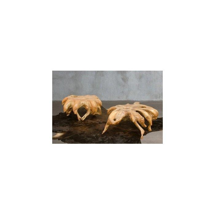Журнальный столик SPIDER из корня тикового дерева