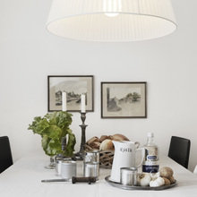 Фотография: Кухня и столовая в стиле Скандинавский, Современный, Детская, Квартира, Швеция, Цвет в интерьере, Дома и квартиры, Белый – фото на InMyRoom.ru