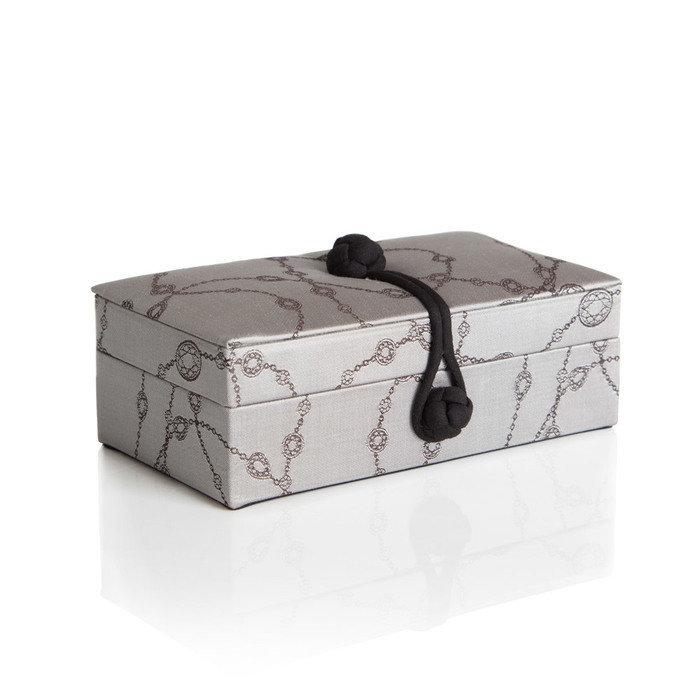 Шелковая шкатулка Loca Nera Silver Silk