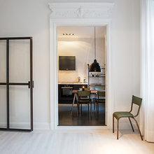 Фотография:  в стиле Современный, Скандинавский, Малогабаритная квартира, Квартира, Дома и квартиры, Стокгольм – фото на InMyRoom.ru