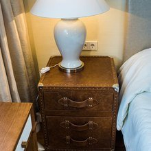 Фотография: Мебель и свет в стиле Кантри, Современный, Спальня, Декор интерьера, Интерьер комнат, Морской – фото на InMyRoom.ru