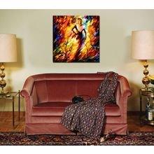 Дизайнерская картина на холсте: Феерический танец