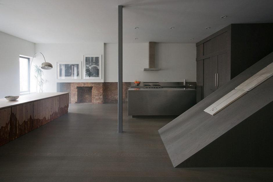 Фотография: Кухня и столовая в стиле Лофт, Современный, Дом, Дома и квартиры – фото на InMyRoom.ru