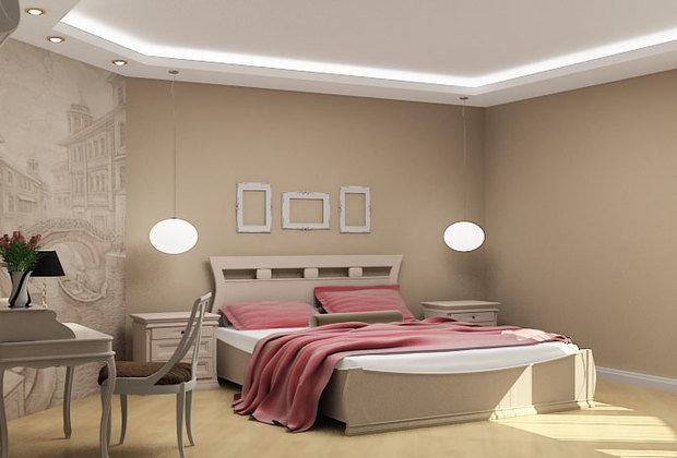 Фотография: Спальня в стиле Классический, Квартира, Дома и квартиры, Стены, Панно, Ремонт на практике – фото на InMyRoom.ru