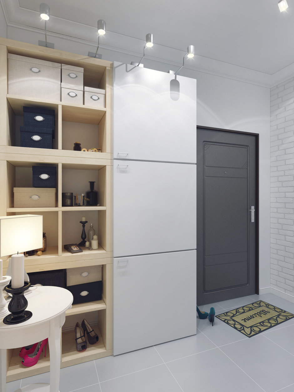 Фотография: Прихожая в стиле Скандинавский, Декор интерьера, Квартира, Massive, Дома и квартиры, IKEA, Проект недели – фото на InMyRoom.ru