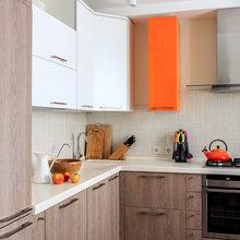 Фото из портфолио Оранжевое с синим – фотографии дизайна интерьеров на InMyRoom.ru