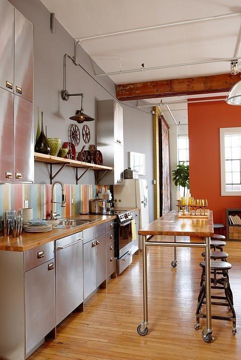 Фотография: Кухня и столовая в стиле Современный, Декор интерьера, Декор дома, Цвет в интерьере – фото на InMyRoom.ru