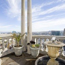 Фотография: Балкон, Терраса в стиле Кантри, Классический, Современный, Квартира, Дома и квартиры, Камин, Пентхаус, Ар-деко – фото на InMyRoom.ru