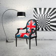 Фото из портфолио Кресло с Британским Флагом – фотографии дизайна интерьеров на INMYROOM