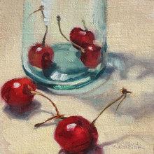 Картина (репродукция, постер): Cherry - Кэрен Вернер