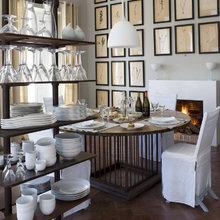 Фотография: Кухня и столовая в стиле Кантри, Дома и квартиры, Городские места, Отель, Бассейн – фото на InMyRoom.ru