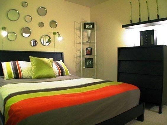 Фотография: Спальня в стиле Современный, Гардеробная, Декор интерьера, Интерьер комнат, Системы хранения, Кровать, Гардероб – фото на InMyRoom.ru