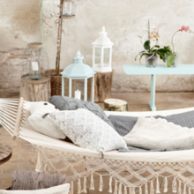 Фотография: Терраса в стиле Кантри, Декор интерьера, Декор дома, Гамак – фото на InMyRoom.ru
