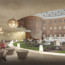 Фото из портфолио Визуализация дизайн-проекта по организации острова Новая Голландия в г. Санкт-Петербург – фотографии дизайна интерьеров на INMYROOM