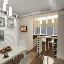 Фото из портфолио кухня в светлых тонах – фотографии дизайна интерьеров на InMyRoom.ru