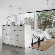 Фото из портфолио Воздушное ощущение свежести в спальне-IKEA – фотографии дизайна интерьеров на InMyRoom.ru