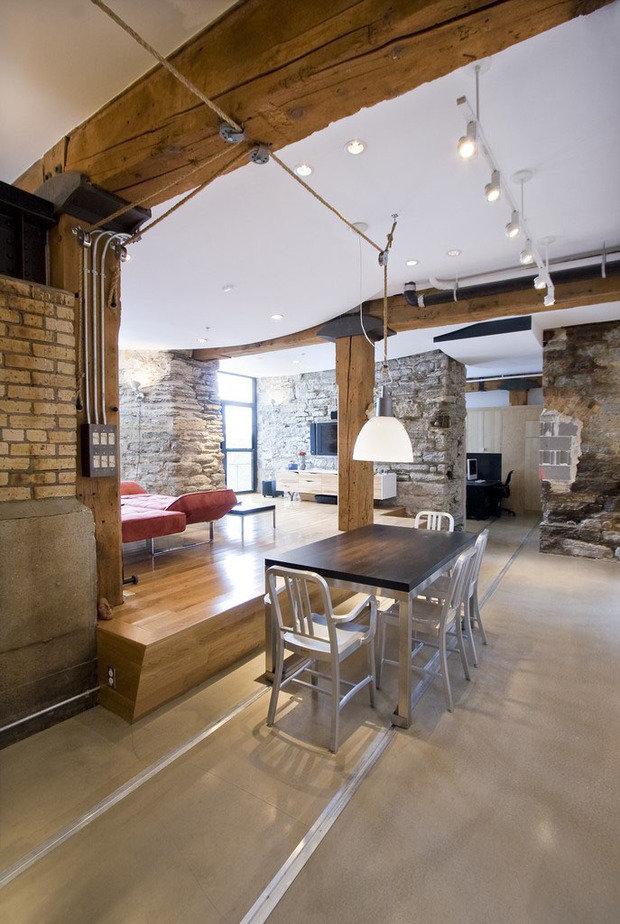 Фотография: Офис в стиле Лофт, Квартира, Дома и квартиры, Проект недели – фото на InMyRoom.ru