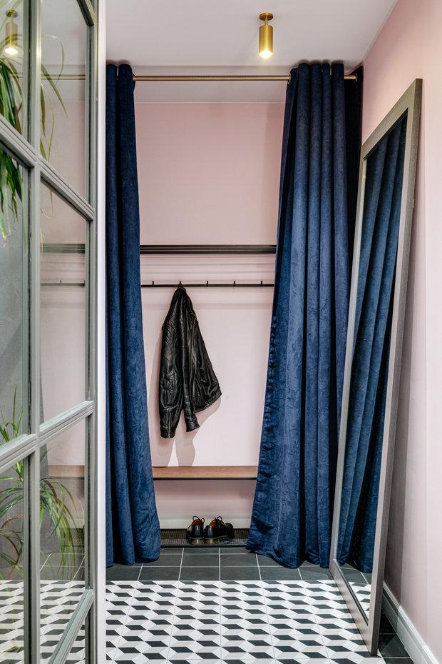 Фотография: Прихожая в стиле Эклектика, Современный, Квартира, Проект недели, Видное, 3 комнаты, 60-90 метров, Дмитрий Удовицкий – фото на INMYROOM