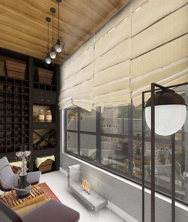 Фотография: Балкон в стиле Лофт, Советы – фото на InMyRoom.ru
