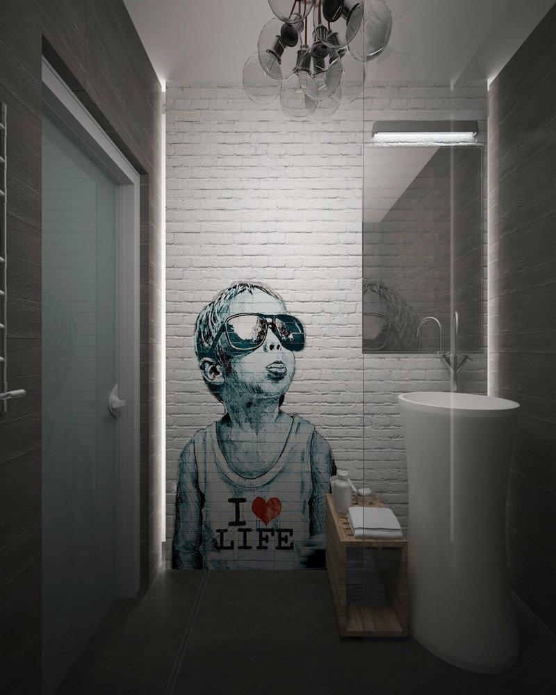 Фотография:  в стиле , Лофт, Квартира, Россия, Проект недели, Диана Карнаухова, Виктория Карякина, MakeDesign – фото на InMyRoom.ru