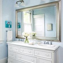 Фотография: Ванная в стиле Кантри, Скандинавский, Интерьер комнат – фото на InMyRoom.ru