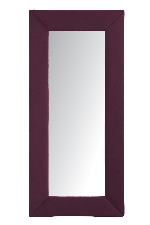 Зеркало напольное бордовое