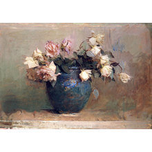 Картина (репродукция, постер): Gentle roses - Аббот Хендерсон Тайер