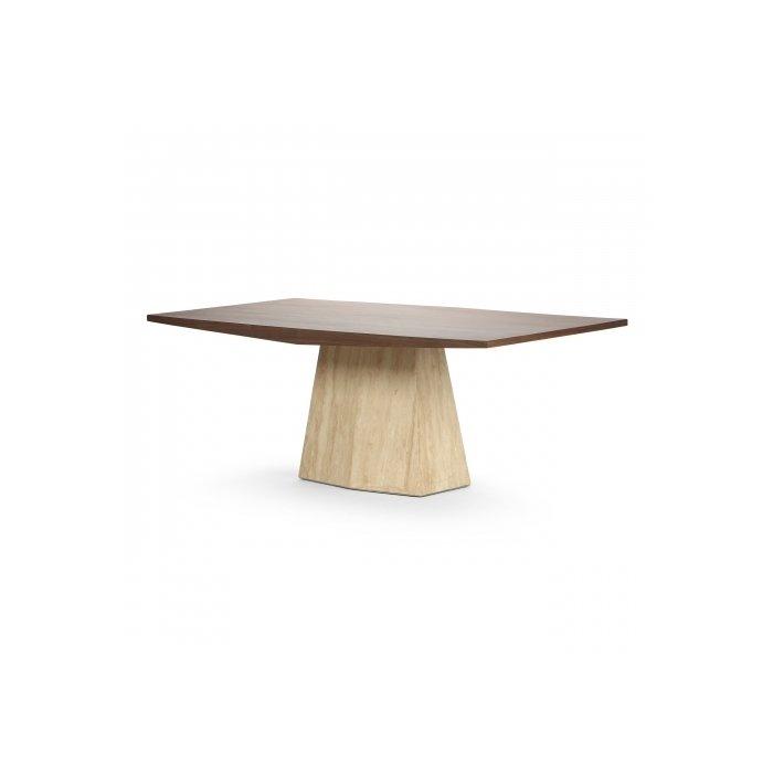 Обеденный стол Syllable с основанием из натурального мрамора