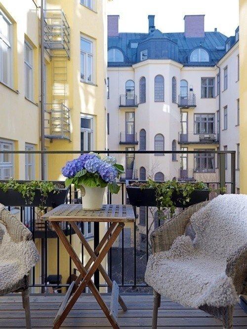 Фотография: Балкон, Терраса в стиле , Интерьер комнат – фото на InMyRoom.ru