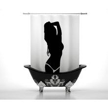 Штора для ванной: Притяжение