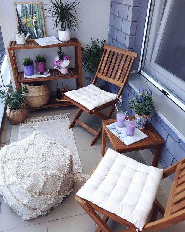 Фотография: Балкон в стиле Скандинавский, Современный, Советы, балкон в квартире – фото на INMYROOM