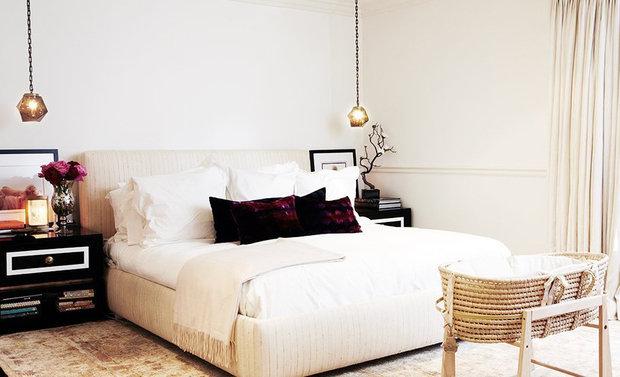 Фотография: Спальня в стиле Лофт, Скандинавский, Интерьер комнат, Цвет в интерьере, Советы – фото на InMyRoom.ru