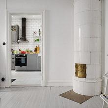Фотография: Гостиная в стиле Скандинавский, Студия, Советы, Белый – фото на InMyRoom.ru