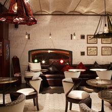 Фотография: Прочее в стиле Кантри, Декор интерьера, Дома и квартиры, Городские места, Барселона, Люстра, Плитка, Ресторан, Бар – фото на InMyRoom.ru