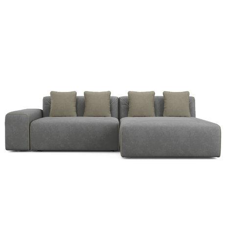 Угловой диван-кровать Portu серого цвета — купить по цене 60500 руб в Москве | фото, описание, отзывы, артикул IMR-1124068 | Интернет-магазин INMYROOM